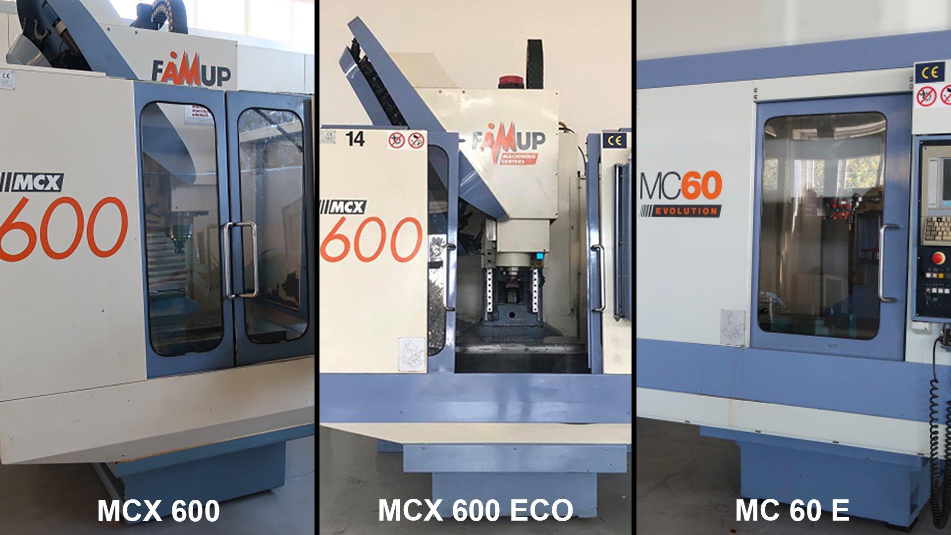 Centri di lavoro usati FAMUP disponibili